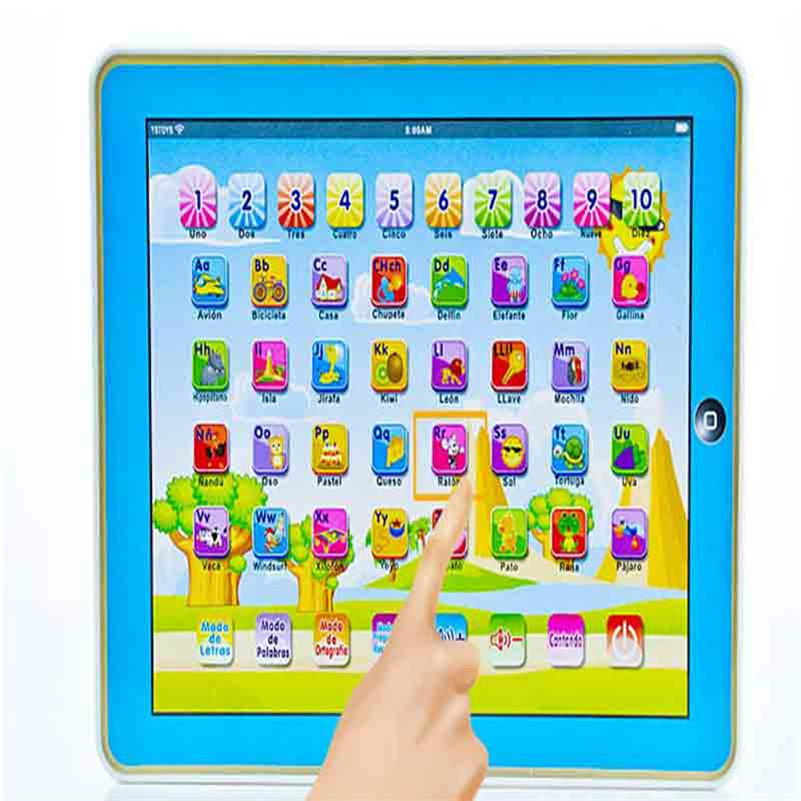Spanish-Learning-Educational-Machine-Baby-Spanish-Learning-Machine-Electronic-Touch-Tablet-Toy-Pad-For-Children-Kids-Laptop-Pad-2
