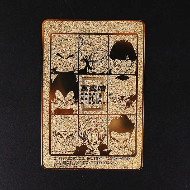 Dragon ball super goku ação brinquedo figuras bandai edição comemorativa jogo flash cartão coleção cartões