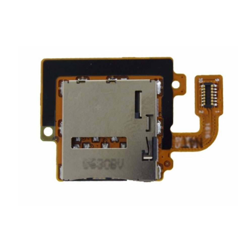 SIM Card Holder Socket Tray Slot Flex Cable For Samsung Galaxy Tab A 10.1 T585