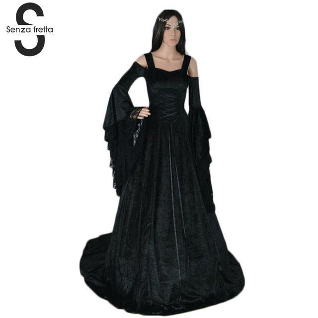 Georgian Victorian Gothic Dress Masquerade Ball Gown Reenactment Theatre Blue Dresses Renaissance Ball Gown Dress SYD0446 3