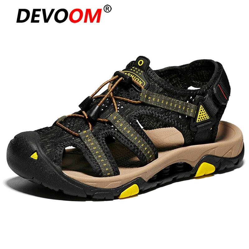 2019 nouveau Sport sandales hommes en plein air été randonnée chaussures plage sandales mâle marche Sandalias playa hommes chaussures Sandale Homme Big 45