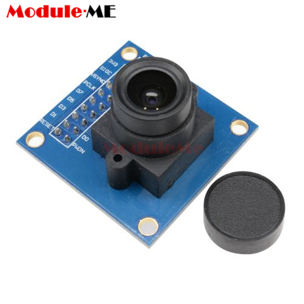 Lowered OV7670 300KP Camera Module Supports VGA CIF 640X480