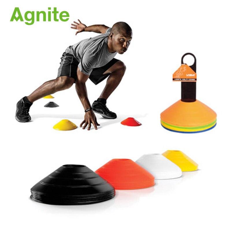 20fce476f2157 5x Agnite PE Profissão Cones De Disco atacado Esporte Futebol vôlei  Basquete Treinamento de Velocidade Entretenimento