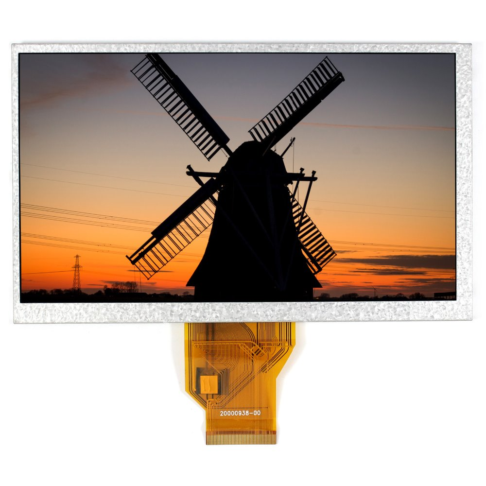 7inch tft lcd display LCM AT070TN90 800X480 resolution thickness 5mm 7 inch fpc3 w70045a0 mid lcd 5mm thickness