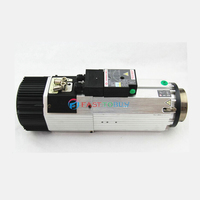 9KW 6.4NM 380V 22A 200/400Hz ISO30/BT30 12000~24000rpm ATC Spindle Motor replace Italy GDZ143x133 9(380V short head)