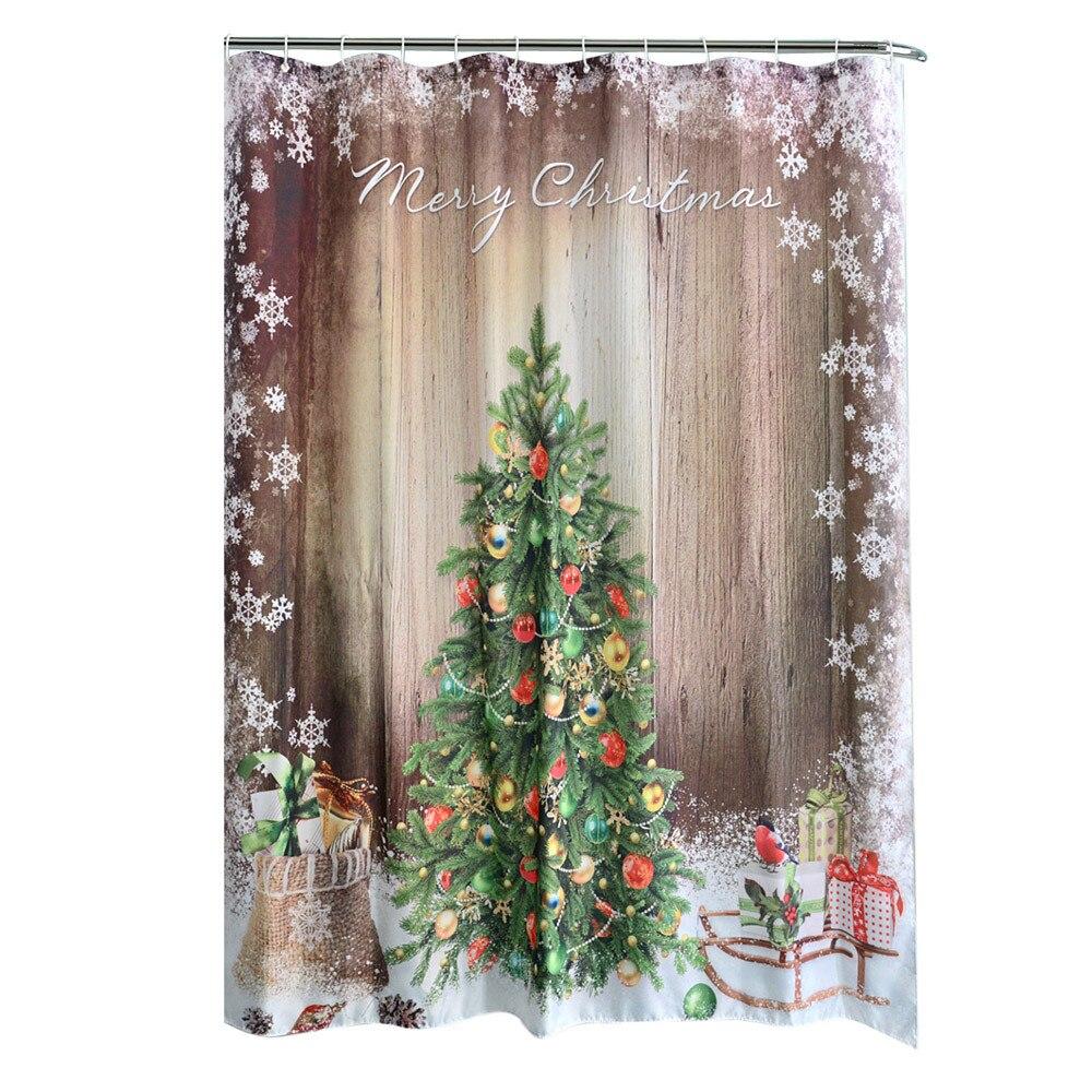 Verkauf Neue Jahr weihnachten vorhänge duschvorhang Badezimmer ...