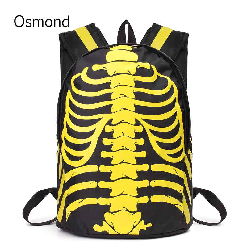 Osmond Fashion Leather Backpacks School Bags For Teenagers Girls Unisex Women Men Backpack Travel Bag 2017 New Bookbag 2017 new fashion backpacks men travel backpack women school bags for teenagers girls pu leather preppy style backpack