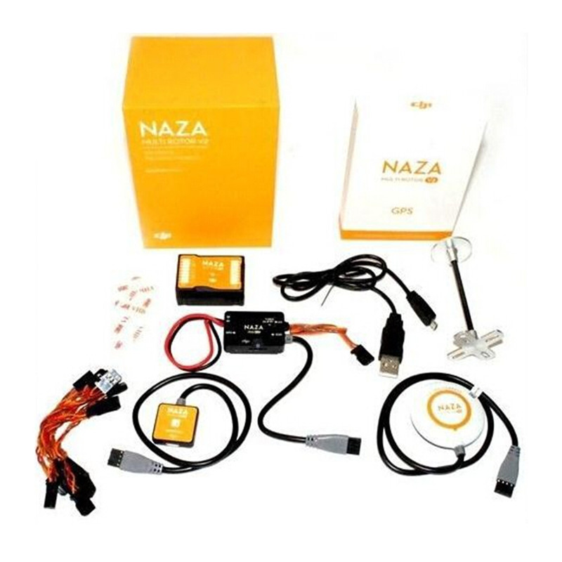 Original Naza-M V2 Naza V2 Flight Controller Newest Version 2.0 with GPS / PMU/LED All-in-one Design for Multicopter
