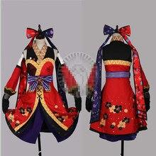 Японские горячие аниме любовь жить ниндзя Nishikino Маки Косплэй костюм Пробуждение платье индивидуальный заказ женщина мужчина Костюмы