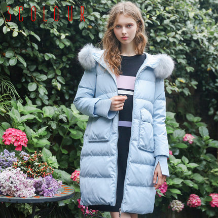 2016 new hot winter Thicken Warm woman Down jacket Coats Parkas Outerwear Hooded Raccoon Fur collar long plus size  luxurious цена 2016