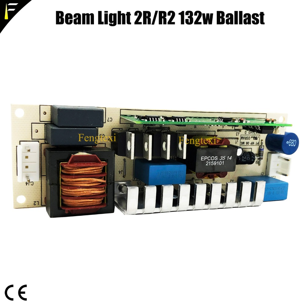 Mini Beam Light Parts Ballast 2R R2 Support 132w 120w Electronic Ballast ECG EVG Current Rectifier