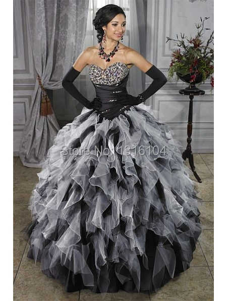 Medieval White Black Bridal Gowns Colorful Two Tones Ball Gown Corset Ruffles Organza Grecian Quinceanera Girl Wedding Dresses Wedding Dress Two Wedding Dressblack Bridal Gowns Aliexpress,Wedding Bridal Dresses Hd