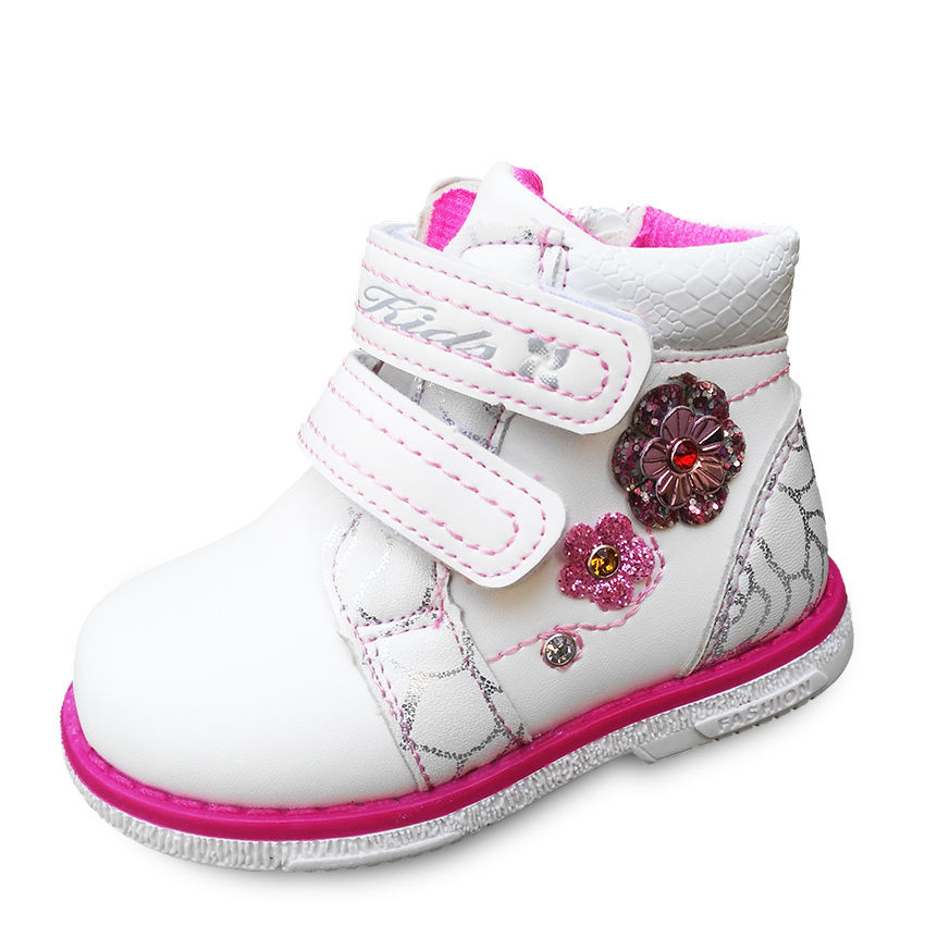 Free Shipping 1pair Children PU Leather Shoes Kids' Sneakers+inner Length 13.5-17cm,Girl Shoes