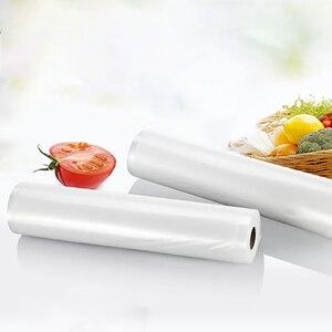Image 5 - YTK 3 rolki 25cm * 500cm do kuchni do jedzenia worek próżniowy do przechowywania torby do uszczelniacz próżniowy żywności świeże długie utrzymanie