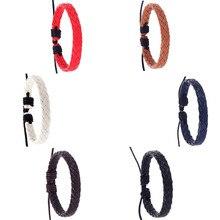 Fashion 2019 Bracelet Men Women Retro Simple Fashion Handmade Hemp Rope Woven Je