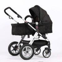 Babyfond коляска Европейского фасона свет складывая руки коляски Реверсивный Multi Функция маленьких квадроцикл машинок