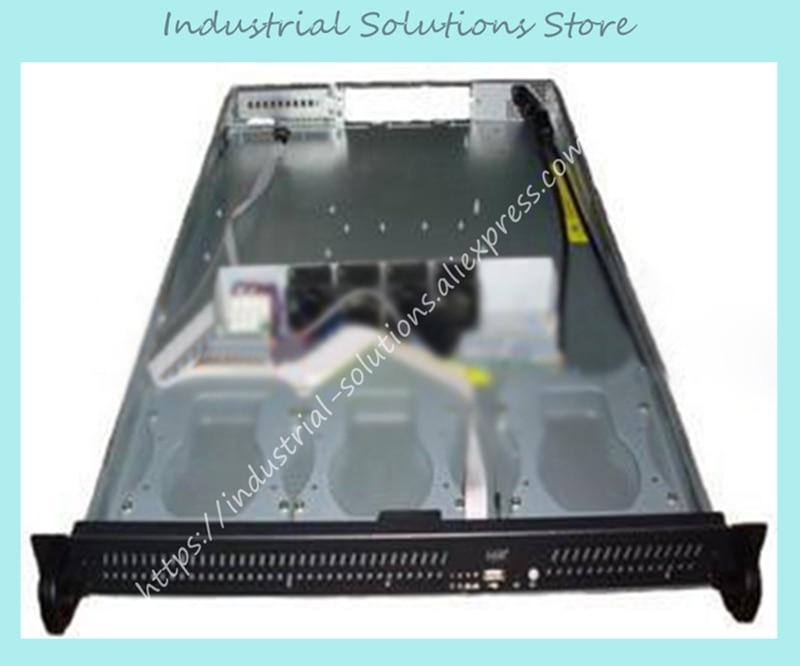 NEW IOK S1320 1U server computer case 3 hard drive new iok s1320 1u server computer case 3 hard drive