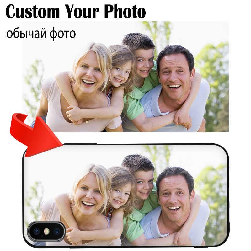 JURCHEN Tùy Chỉnh Dành Cho Huawei P10 Plus P20 P30 Pro Lite Danh Dự 6C 4X 8X Max 10 V10 7A 8C chơi 8A Quan Điểm 20 Bao Tùy Chỉnh Hình