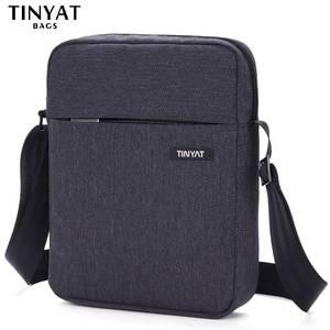 d2d1266102 TINYAT Brand Men s Crossbody Bag Pack Multifunctional Men Bag Male Shoulder  Messenger Bags Canvas Leather Shoulder Handbag T511