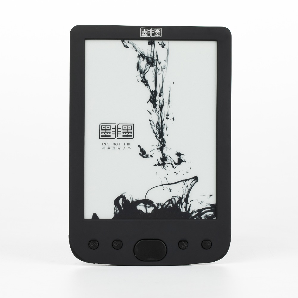 New Russian FB2 Black Ereader e ink 6 inch e Book Reader e ink screen 8GB