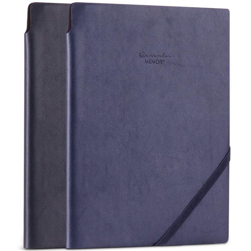 Deli Vintage Soft PU Leather Cover Business Notebook 2018 New 25K/A5 96 Sheets Diary Notebooks Travel Journal Black Notebook deli гастроном 3179 brown jazz series классический ретро кожа блокнот 25k 130 ye случайных цветов
