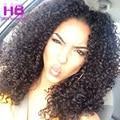 Kinky Curly brasileiro Virgem Cabelo 3 Bundles 100% Não Transformados Extensões de Cabelo Humano Encaracolado Brazillian Cabelo Crespo Afro crespo Tece