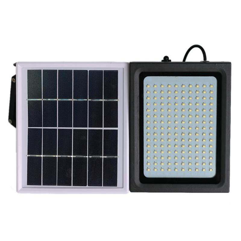 150 LED Solar Light IP65 Waterproof Solar Powered LED Flood Lights PIR Motion Sensor Outdoor Lamp Garden Security Wall Lamps 3W цена