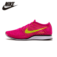 NIKE Original New Arrival Womens Flyknit Race Running Shoes Mesh Breathable Stability High Quality For Women