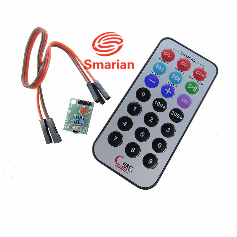 Free Shipping Ir Infrared Robot Remote Control Kit Lights & Lighting Connectors
