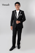 Boys Tuxedo with Shirt & Bow tie Children Tux Formal Wedding Ring Bearer Suits