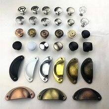 Variedad de estilo color puerta de acero inoxidable cajón armario ropero tiradores tirador de ferretería para muebles al por mayor