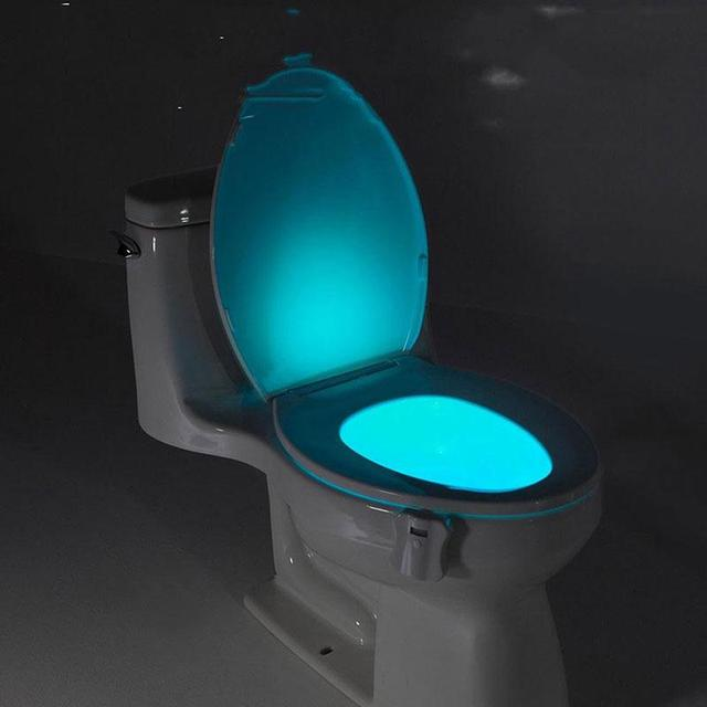 Bathroom Night Light aliexpress : buy human motion sensor automatic toilet seat led