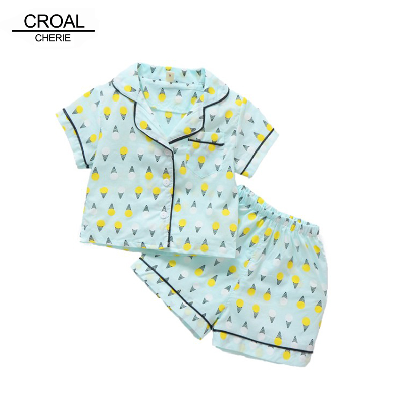 86f5ff24c CROAL CHERIE Korean Pijama Infantil Summer Children Sleeping Wear ...
