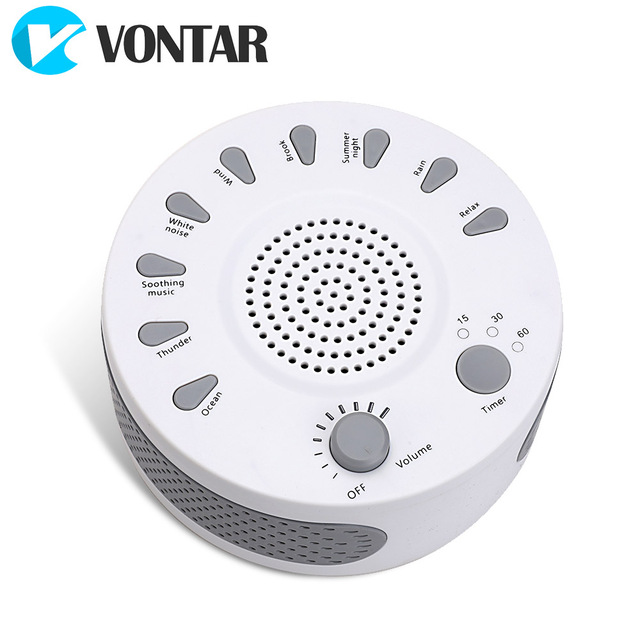 VONTAR M1 White Noise machine Sleep Therapy Regulator Natural for Baby  sleep snore with USB PORT Adapter