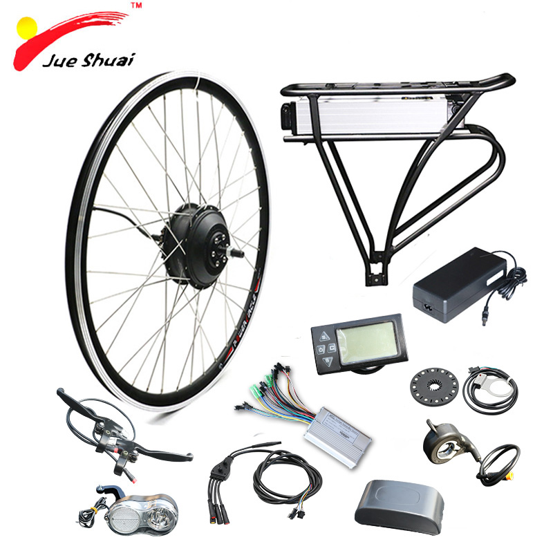 Duty Free 36V 350W Electric Bike Kit for 26 700C 27.5 Wheel Motor Ebike e bike Electric Bike Conversion Kit Hub Motor Wheel