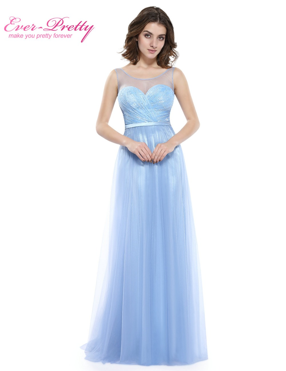 Aliexpress.com : Buy [Clearance Sale] Sexy Ice Blue Prom Dresses ...
