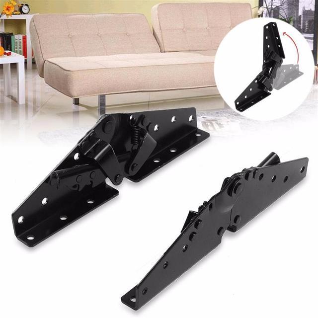 HPKG горячекатаный металлический стальной черный диван кровать постельные принадлежности мебель регулируемый 3-позиционный угловой механиз...