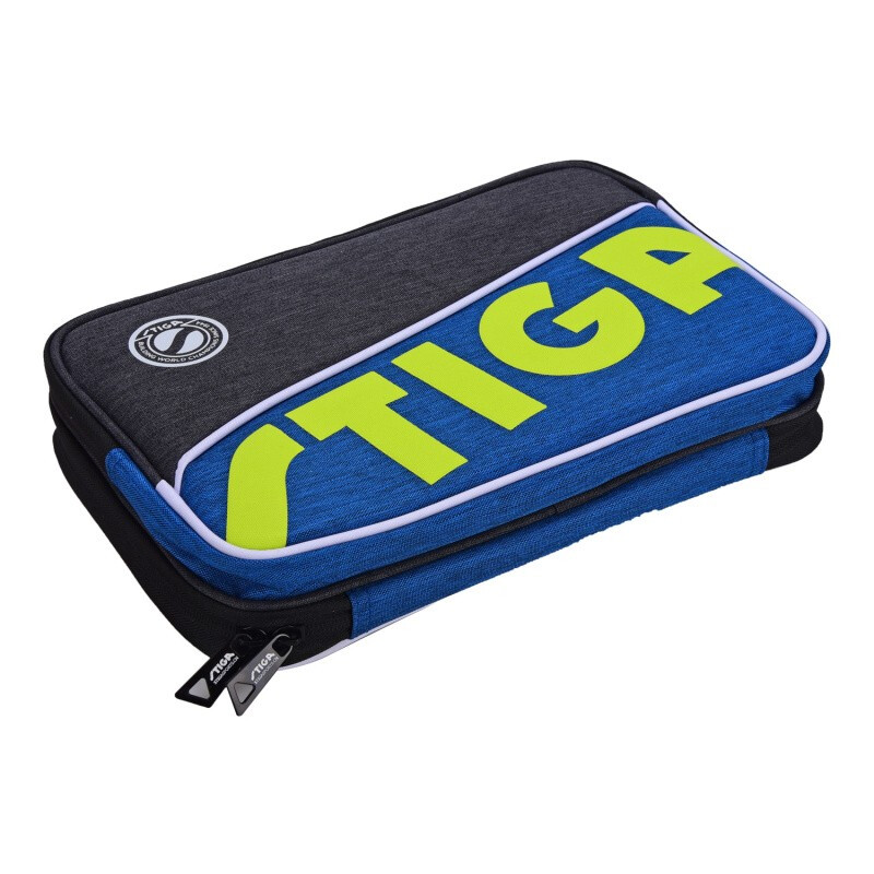 STIGA Table Tennis Case Bag (Square / Round, Red / Blue) Top Quality Fashion Ping Pong Case