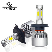 Kafolee 2pcs Auto Headlamp H7 Led H4 Light Bulbs H1 H8 H11 H3 Hb4 Hb3 H27