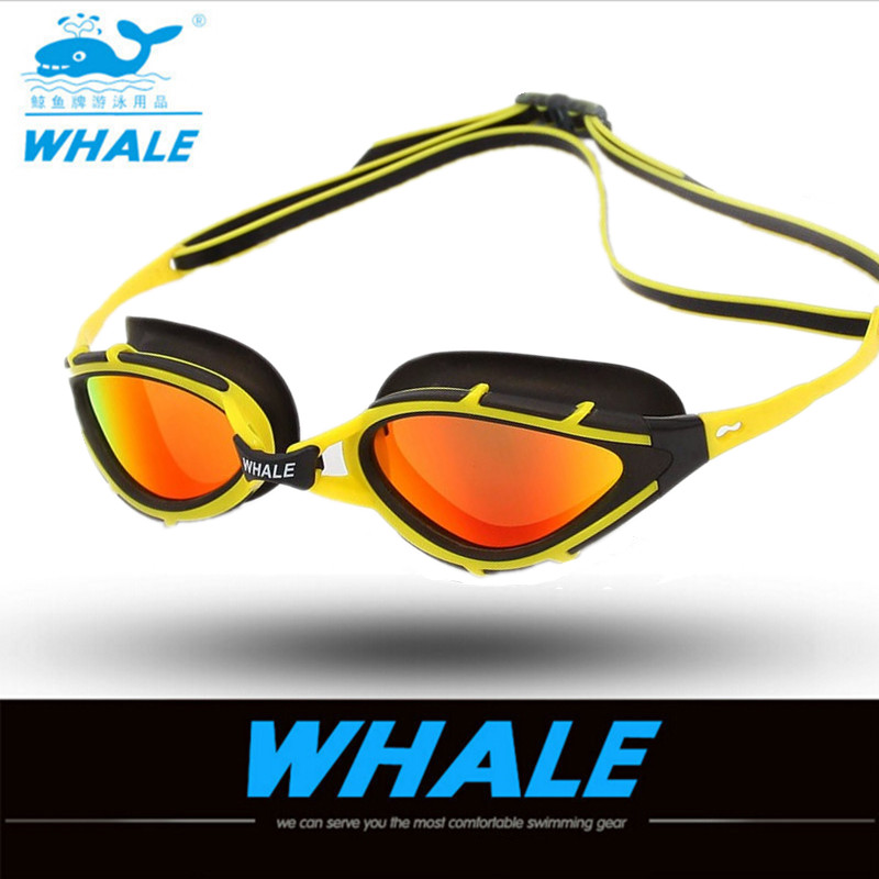 Marca polarizada gafas de natación adultos gafas de agua profesional Natación impermeable antiniebla Gafas de natación gafas de natación 2018