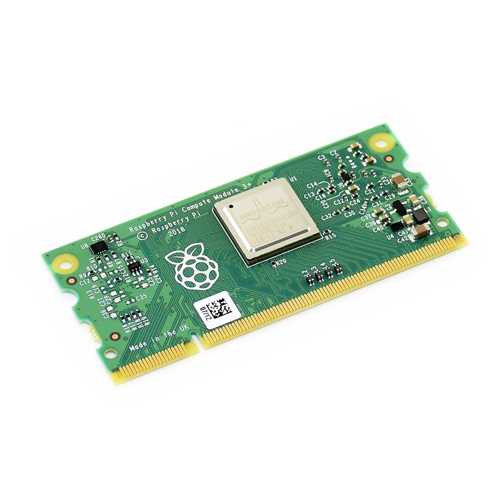 Raspberry Pi Compute Module 3+ Lite/8GB/16GB/32GB 1GB RAM 64-bit 1.2GHz BCM2837B0 200PIN SODIMM Connector Supports Window 10 Etc