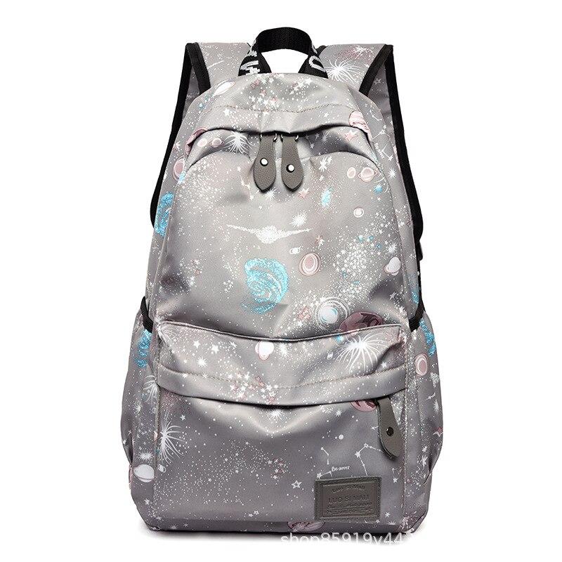Waterproof Nylon Women Backpack Female Large Capacity High Schoolbag Korean Casual Backpacks Girl Shoulder Travel Bags Mochila