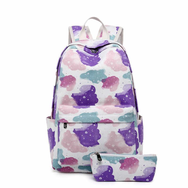 Mochila de moda para mujer, mochilas escolares informales para adolescentes, Mochila escolar con estampado bonito para niñas, Mochila de viaje escolar, Mochila para ordenador portátil