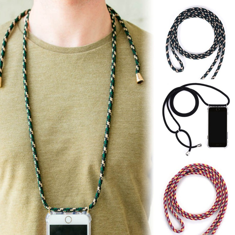 Strap Cord Chain Phone Rope Necklace Lanyard Mobile Phone Case For Carry Cover  Case To Hang For IPhone XS Max XR X 7Plus 8Plus