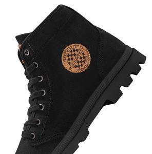 Image 4 - شاومي جوديير حذاء قماش ارتداء مقاومة حذاء برقبة للعمل خطوط غرامة رجل امرأة عالية أعلى حذاء قماش التحرير الأحذية في الهواء الطلق