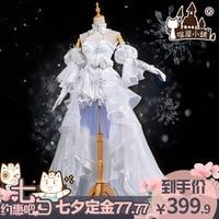Vocaloid Miku Luka Luo Tianyi White Lolita Uniforms Cosplay Costume Free Shipping