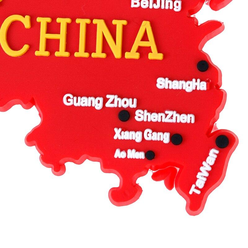 Китайский Стиль магнит на холодильник личи жизни китайский флаг карта холодильник магнитная Стикеры подарочные сувениры современный кухо...