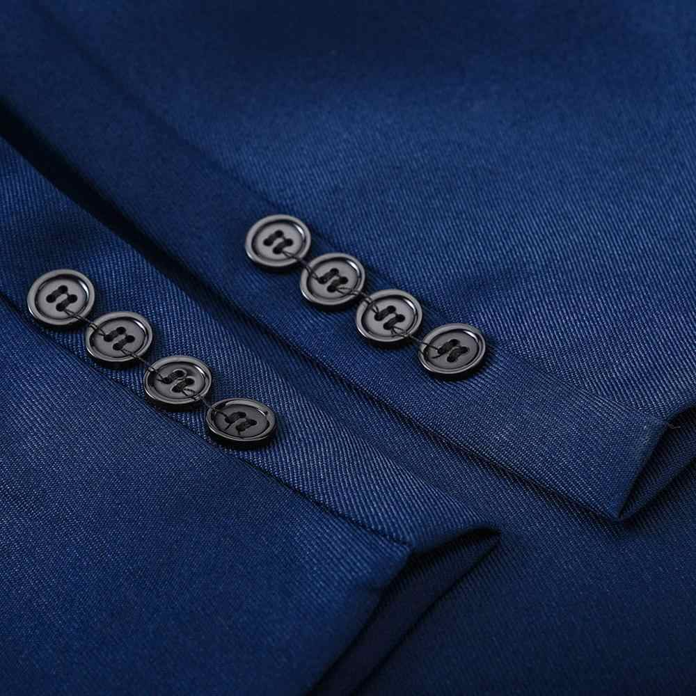 Brand Men Suit 2019 Wedding Suits for Men Shawl Collar 3 Pieces Slim Fit Burgundy Suit Mens Royal Blue Tuxedo Jacket #0701
