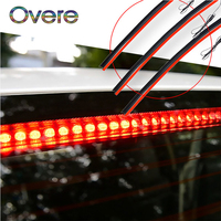 Overe 1PC Car High Mount Brake Tail Light Stop Lamp 12V For BMW E60 E36 E46 E90 E39 E30 F30 F10 F20 X5 E53 E70 E87 E34