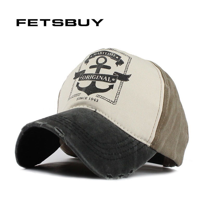 купить FETSBUY wholesale Cotton Wash Baseball Cap Vintage Casual Hat Snapback Truck New For Adult Adjustable Cap gorras Brand Fitted дешево